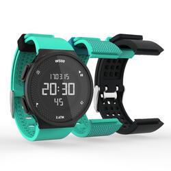 运动计时手表套装W500 M SWIP (1只手表, 2根额外的表带)