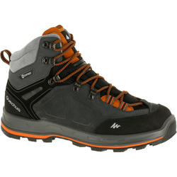 户外登山防水男式高帮登山鞋 QUECHUA Quechua Forclaz 500 Men's High Waterproof Hiking shoes