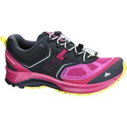 户外运动竞速徒步轻便透气女士徒步鞋 QUECHUA For 500 helium