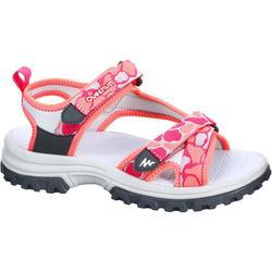 MH120 青少年儿童徒步凉鞋 - 珊瑚色
