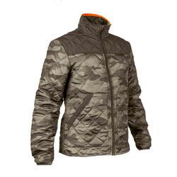 荒野探险加厚保暖男士夹克 棉服 棉衣 SOLOGNAC Quilted Jacket 100