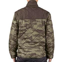 荒野探险100系列棉服夹克-绿色迷彩