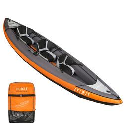 充气皮划艇 2/3个座位ORANGE