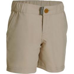 户外登山运动快干透气男童儿童短裤 QUECHUA Hike 100 Boy's Hiking Shorts