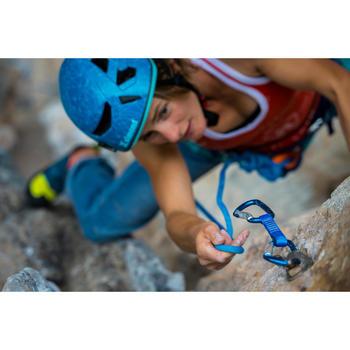 攀岩动力绳 Rock+ 10 mm x 70 m 蓝色