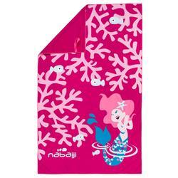 微纤维毛巾L Printed - Pink