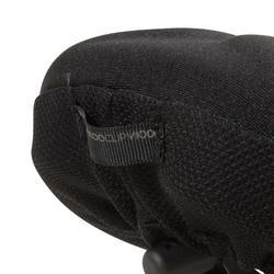 记忆泡沫鞍座垫500 - L号,黑色