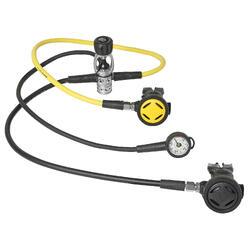 SCD100系列调节器 备用二级头 压力计 套装