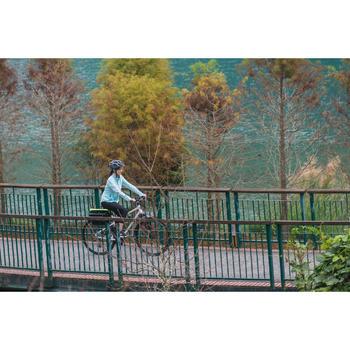 自行车运动6速V刹公路林间小径适用混合路面自行车 B'TWIN riverside 100 - 1158713