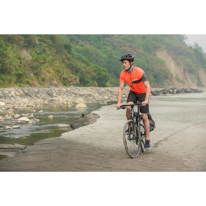 自行车运动6速V刹公路林间小径适用混合路面自行车 B'TWIN riverside 100 - 1158714