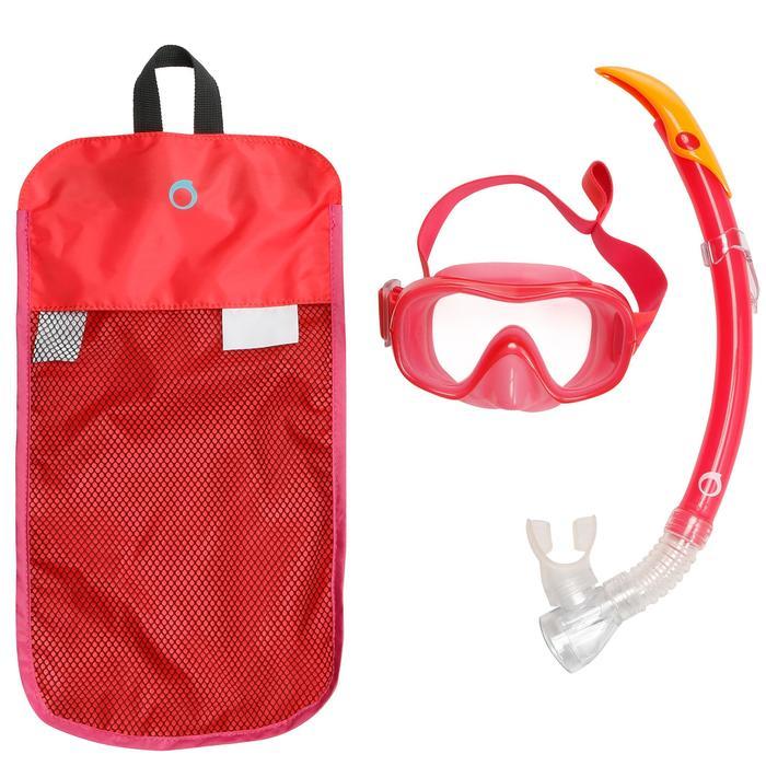 成人浮潜套装浮潜二宝呼吸管面镜 - 520系列