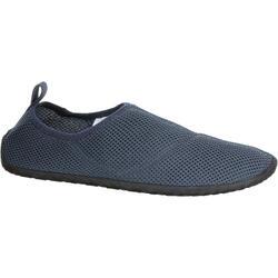 浮潜鞋 - 灰色薄款100系列