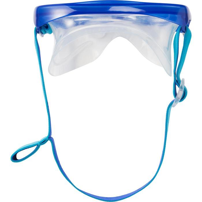 浮潜二宝套装 - 蓝色面镜呼吸管 FRD120