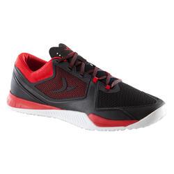 男式综合循环训练鞋 STRONG 900 - 黑色/红色