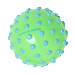 水球Green small learning to swim ball with blue dots