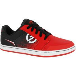 儿童滑板鞋Crush Rubber - Red/Black
