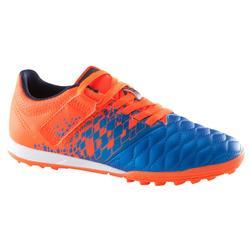 青少年碎钉足球鞋 Agility 500 HG - 蓝色/橙色