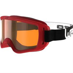 婴儿滑雪/雪橇护目镜,适用于晴好天气- Red