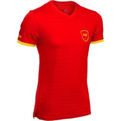 足球运动国家队足球纪念T恤青少年短袖运动T恤 KIPSTA FP300 KIDS