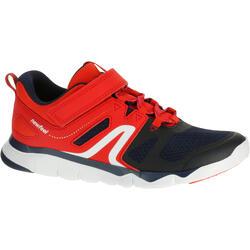 PW 540青少年健走鞋藏蓝色/红色
