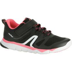 PW 540 青少年健走鞋 黑色/粉色
