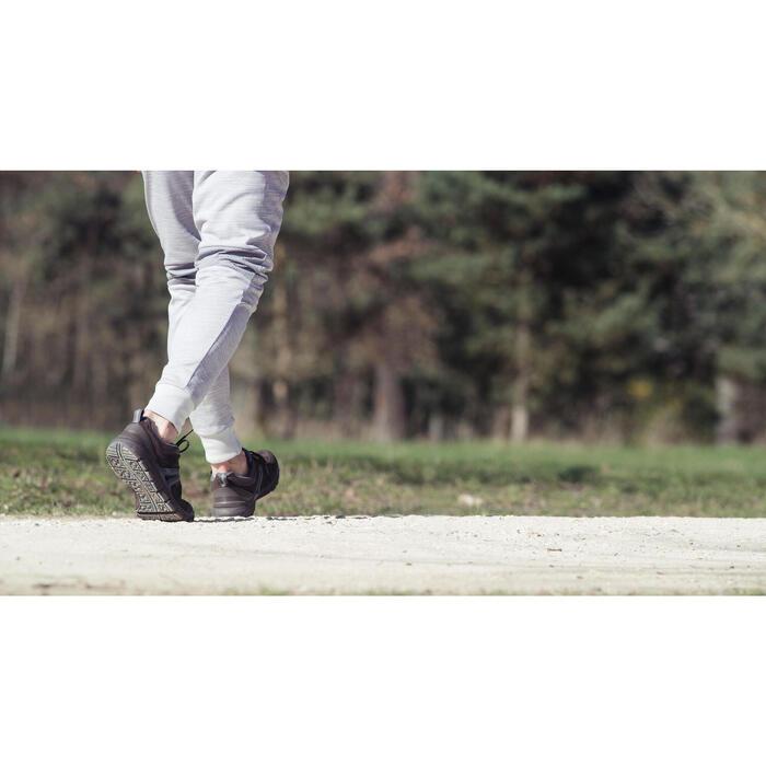 HW 540男士牛皮健走鞋- 棕色