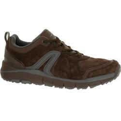 HW 540男士牛皮健步鞋- 棕色