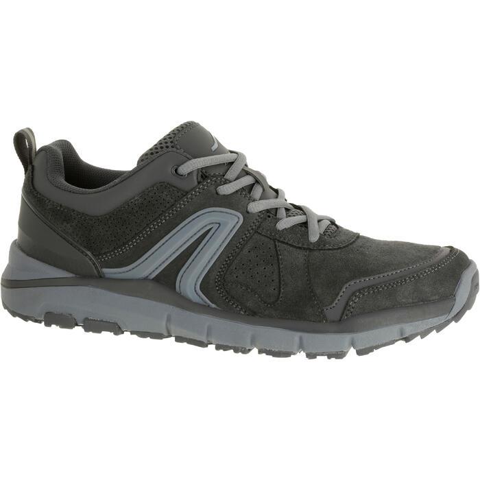 HW 540男士牛皮健走鞋- 灰色
