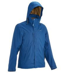 户外运动防风防水保暖可脱卸男士三合一冲锋外套 QUECHUA JKT Arpenaz300 3in1 Men