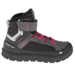 户外运动防水保暖青少年雪地鞋 QUECHUA SH500