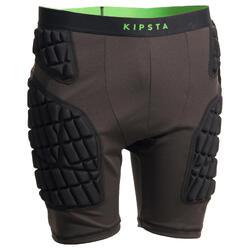 成人橄榄球防护短衬裤 - 灰色 / 绿色