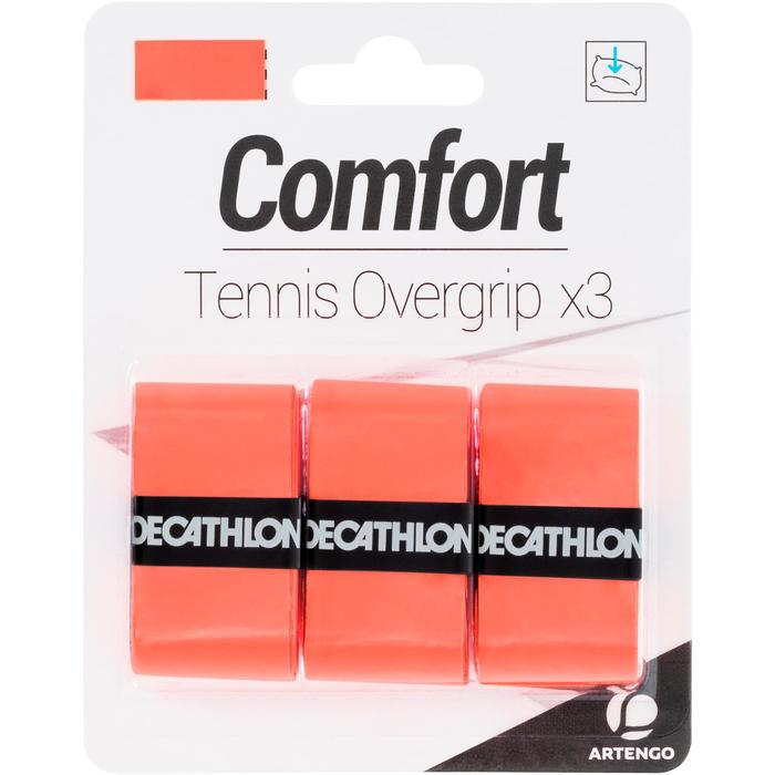 网球粘性吸汗带-橙