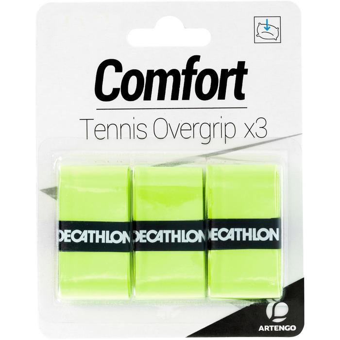 网球舒适吸汗带-黄色