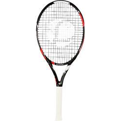 青少年网球拍TR990 26寸-黑色/橙色