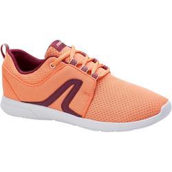 步行运动轻便缓震透气女士步行鞋休闲鞋 NEWFEEL SOFT 140