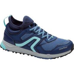 步行运动缓震带内衬耐磨女士步行鞋休闲鞋 NEWFEEL Nordic Walking 500