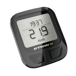 自行车码表成人自行车附件 B'TWIN 120 无线码表