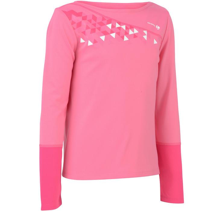 DECATHLON 迪卡侬 球拍类运动快干保暖女童长袖T恤 ARTENGO