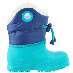 婴儿雪橇滑雪鞋WARM - Blue