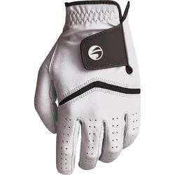 高尔夫运动全粒面绵羊皮右手球员男士手套 INESIS 500系列