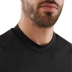 成人长袖训练紧身衣 Keepdry 100- 黑色