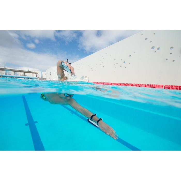 游泳手蹼Nabaiji Easystroke - White Dark Blue