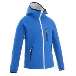 男童软壳登山夹克 HIKE 900 - 蓝色