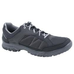 郊野徒步鞋-男士-黑色 | NH100