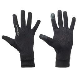 KALENJI 跑步运动可触屏手套-黑色