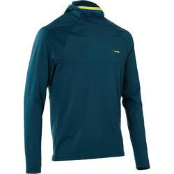 男式滑雪保暖内衣Freshwarm Neck - Blue