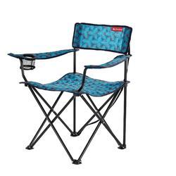 户外运动扶手折叠椅折叠椅 QUECHUA ARMCHAIR