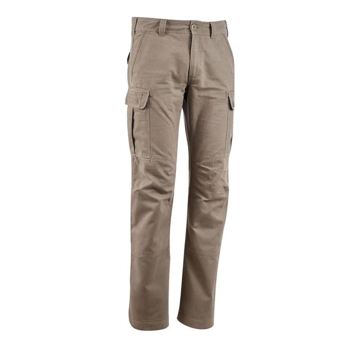 TRAVEL 100 男式徒步旅行长裤 - 米色