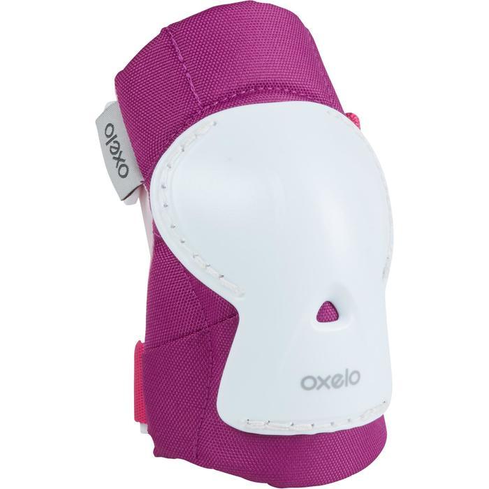 儿童直排轮保护器套组PLAY - Pink/White