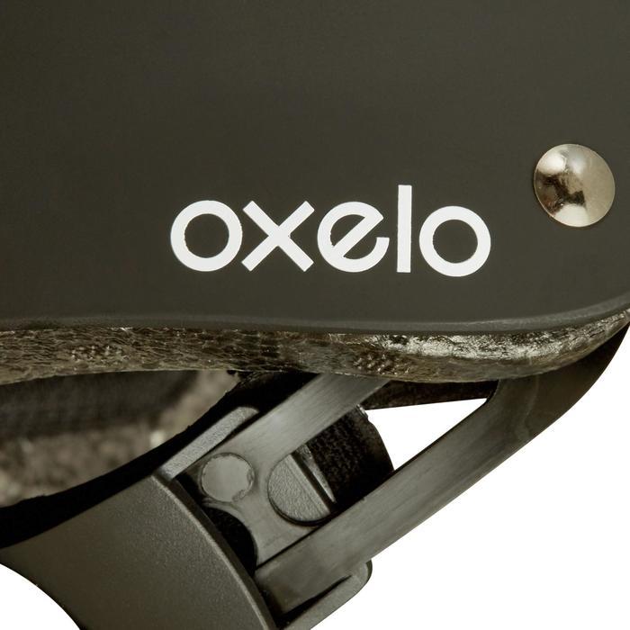 直排轮滑板滑板车头盔MF Black